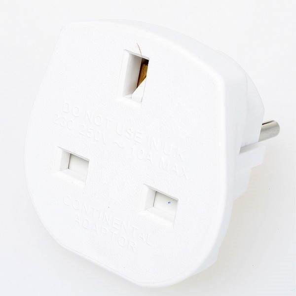 Redukce z UK na CZ na napájecí kabel - Adaptér