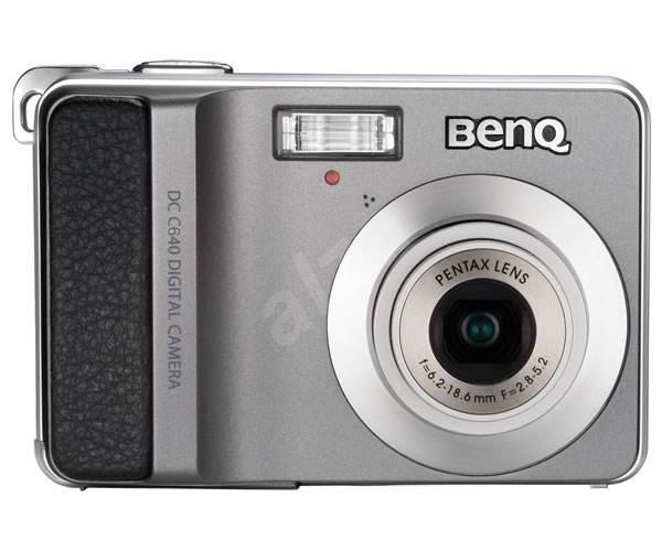 "Promo BenQ DC C640, CCD 6 Mpx, Pentax optika, 3x zoom, 2.5"" LCD, CZ menu, 2x AA, SD - Digitálny fotoaparát"