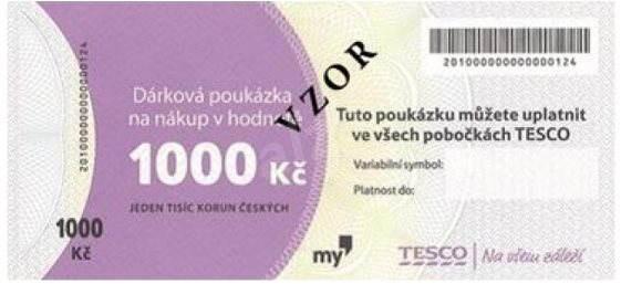 6659ec6b1 Darčeková poukážka TESCO vo výške 1000 Sk - Poukaz | Alza.sk