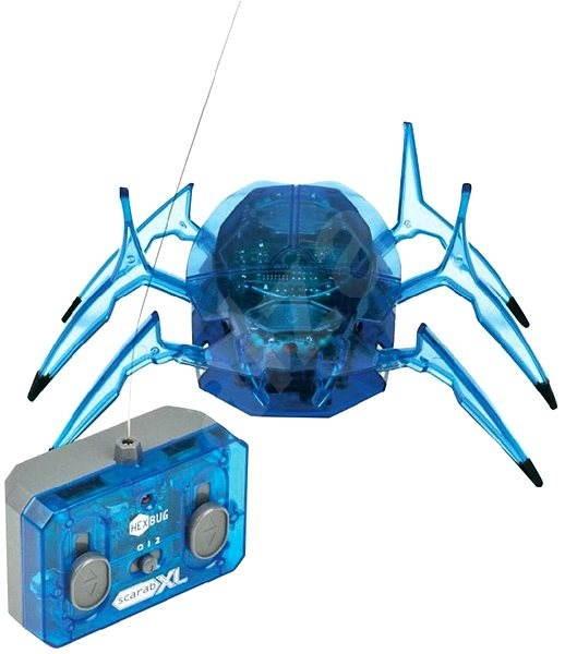 HEXBUG Scarab XL - modrý - Mikrorobot