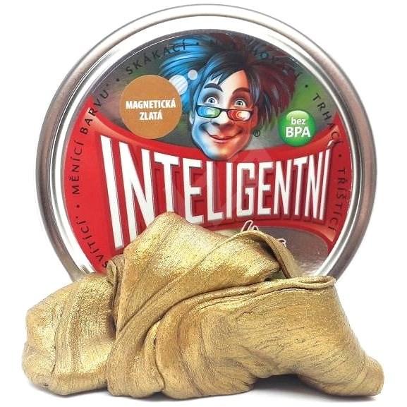 Inteligentná plastelína - zlatá (magnetická) - Modelovacia hmota