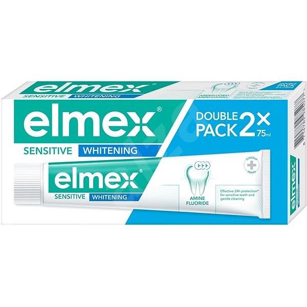 ELMEX Sensitive Whitening 2× 75 ml - Zubná pasta
