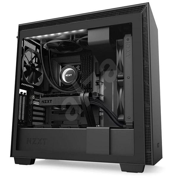 NZXT H710i čierna - Počítačová skriňa