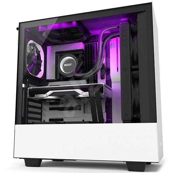 NZXT H510i biela - Počítačová skriňa