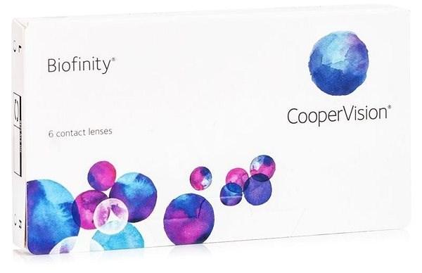 Biofinity (6 šošoviek) dioptrie: -0.75, zakrivenie: 8.60 - Kontaktné šošovky