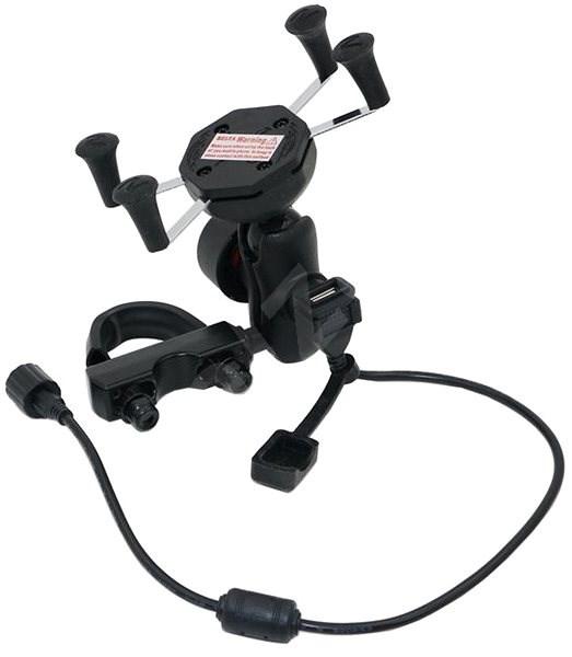 Belta SX USB držiak na telefón, GPS – model adaptéra S-ball 15,8 mm - Univerzálny držiak
