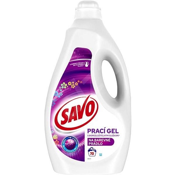 965a96124 SAVO farebná bielizeň 3,5 l (70 praní) - Prací gél | Alza.sk
