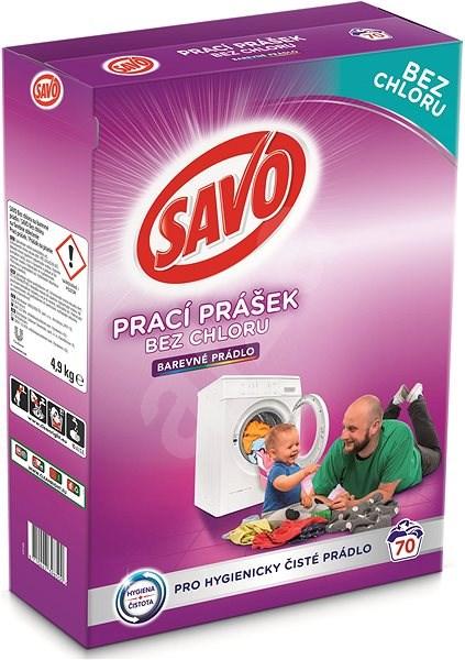 7f7c7dea3 SAVO farebná bielizeň 5 kg (70 praní) - Prací prášok | Alza.sk