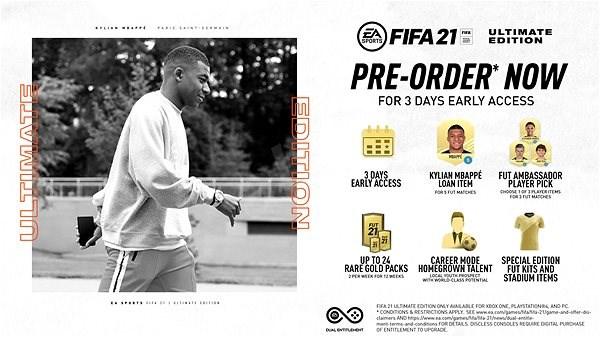FIFA 21 Ultimate – predobjednávkový bonus – Xbox One - Promo elektronický kľúč