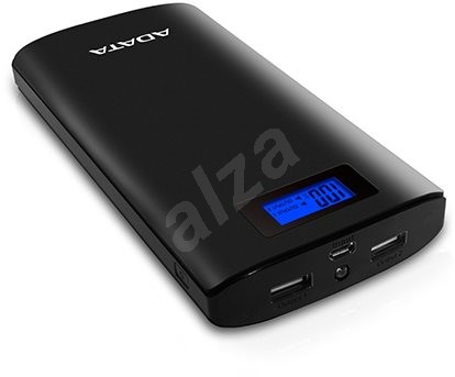 adata p20000d power bank 20 000 mah ierny powerbank. Black Bedroom Furniture Sets. Home Design Ideas