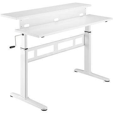 AlzaErgo Table ET3.1 bílý - Stôl