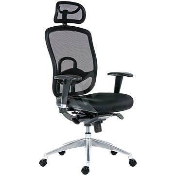 ANTARES OKLAHOMA PDH čierna - Kancelárska stolička