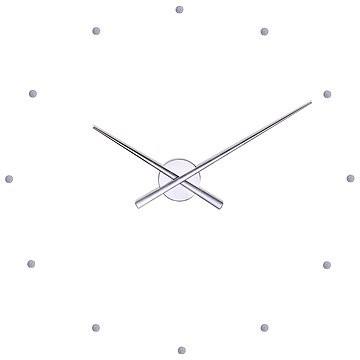 NOMON OJ N503 strieborné - Nástenné hodiny