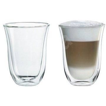 De'Longhi Súprava pohárov 2ks Latte macchiato - Pohár na teplé nápoje