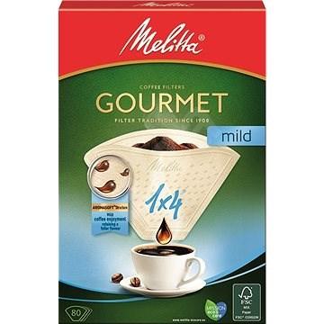Melitta káva 1 × 4/80 Gourmet MILD - Filter na kávu