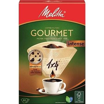 Melitta káva 1x4 / 80 Gourmet INTENSE - Filter na kávu