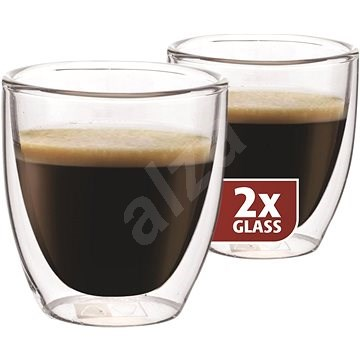 MAXXO - Termo poháre DG808 espresso, 2 ks - Termopohár