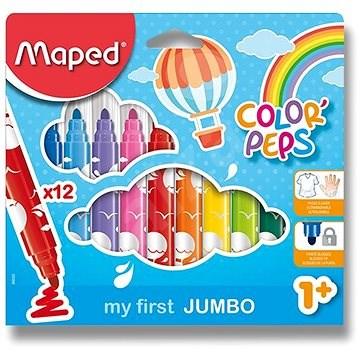 MAPED Color Peps Maxi 12 farieb - Fixky