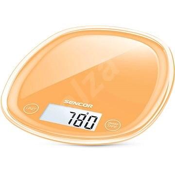 Sencor SKS Pastels 33OR oranžová - Kuchynská váha