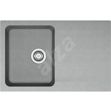 Franke OID 611-78 sivý 780x500 mm - Tectonitový drez