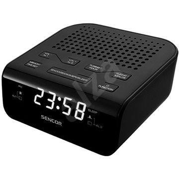 Sencor SRC 136 B čierny - Rádiobudík