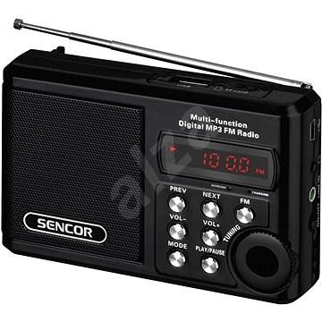 Sencor SRD 215 B čierne - Rádio