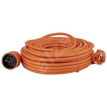 Emos predlžovací kábel 25m, oranžový - Predlžovací kábel