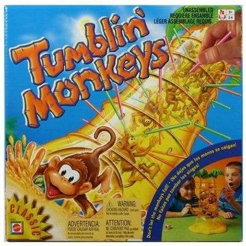 Mattel – Padajúce opičky - Spoločenská hra