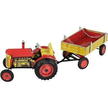 Kovap Traktor a valník - Kovový model
