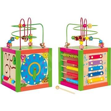 Woody Didaktická kocka - Didaktická hračka