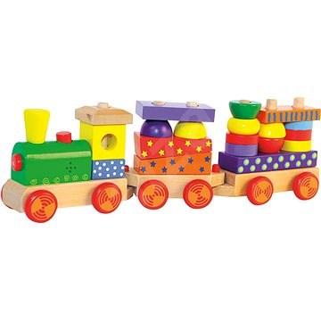 Woody - Skladací vlak so svetlom - Vláčik