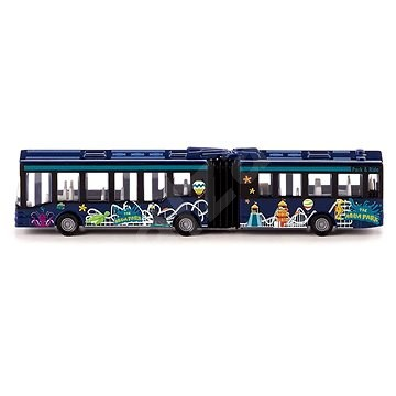 Siku Blister - Kĺbový autobus - Kovový model