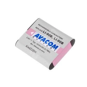 Avacom za Olympus LI-90B Li-Ion 3,7 V 1080 mAh 3,9 Wh - Batéria do fotoaparátu