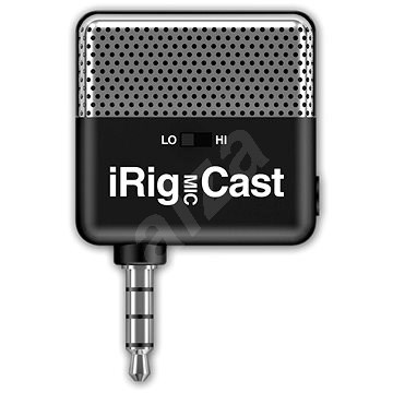 IK Multimedia iRig MIC cast - Mikrofón