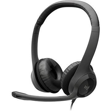 Logitech USB Headset H390 - Slúchadlá