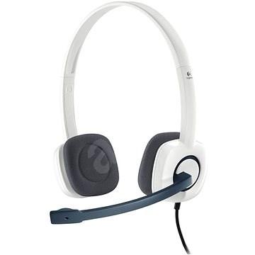 Logitech Stereo Headset H150 Coconut - Slúchadlá