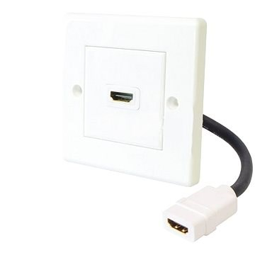 HDMI zásuvka do steny C 400-1 - Zásuvka