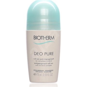 BIOTHERM Deo Pure Roll-on 75 ml - Dámsky antiperspirant