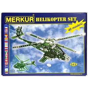 Merkur helikopter set - Stavebnica