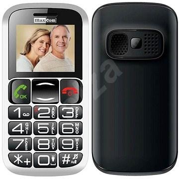 MAXCOM MM462 čierny - Mobilný telefón