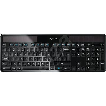 Logitech Wireless Solar Keyboard K750 UK - Klávesnica
