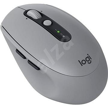 Logitech Wireless Mouse Silent M590 sivá - Myš