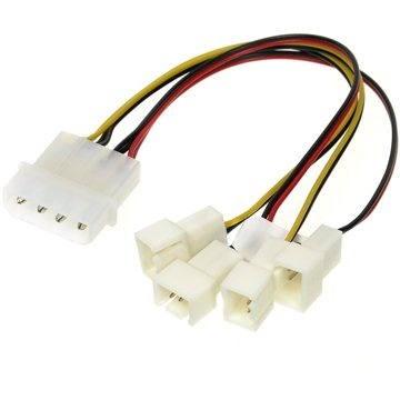 AKASA 4-pin PSU molex - Redukcia
