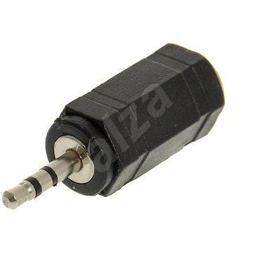 Audio 2.5 mm JACK --> 3.5 mm JACK - Redukcia