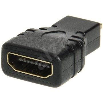 HDMI A (F)--> micro HDMI (M), pozlátené konektory - Redukcia