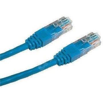 Datacom, CAT6, UTP, 0,5 m, modrý - Sieťový kábel