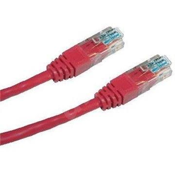 Datacom, CAT6, UTP, 1 m, červený - Sieťový kábel