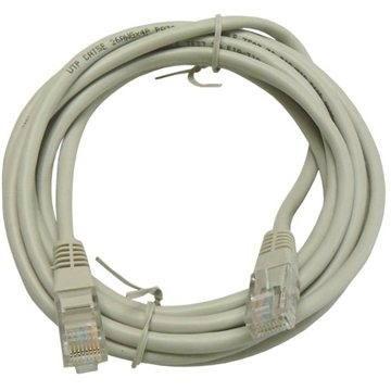 OEM CAT5E UTP šedý 3m - Sieťový kábel