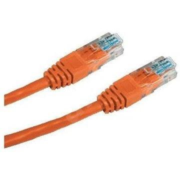 Datacom, CAT5E, UTP, 0.25, oranžový - Sieťový kábel