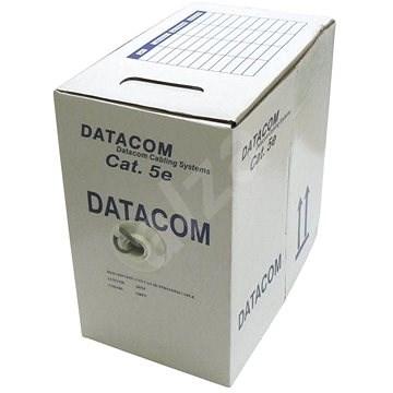 Datacom, drôt, CAT5E, UTP, 305m/box - Sieťový kábel